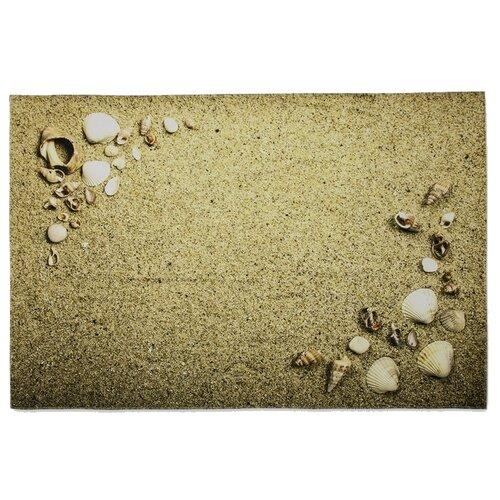 Фото - Коврик Доляна Песчаный пляж 80х120 см бежевый коврик велий честер серый 80х120