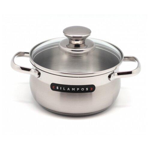 Кастрюля Silampos Royal 2,75 л, стальной silampos чайник заварочный art deco 0 9 л 41281318sc53 silampos