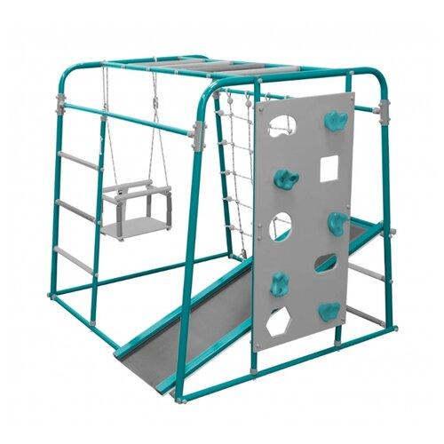 Спортивно-игровой комплекс Формула здоровья Start baby 2, бирюзовый/серый