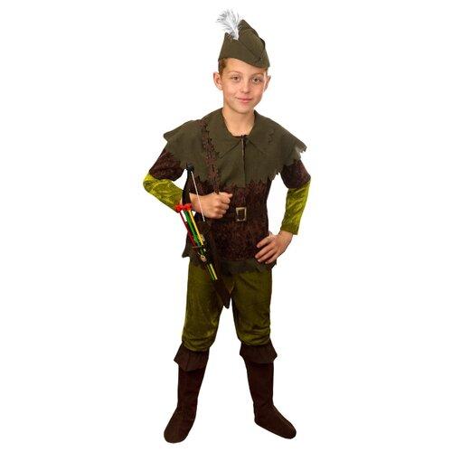 Купить Костюм Elite CLASSIC Робин Гуд, зеленый, размер 30 (122), Карнавальные костюмы