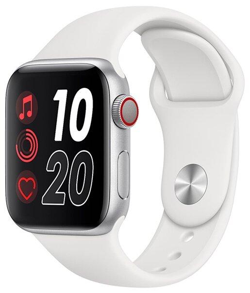 Умные часы BandRate Smart WTCH55, белый/серебристый фото 1