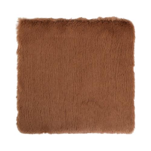 Мех искусственный Арт Узор для творчества 1200 г/м, 30х30 см коричневый