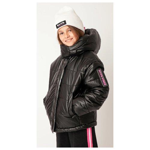 Купить Куртка Gulliver размер 170, черный, Куртки и пуховики
