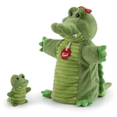 Trudi Игрушка на руку Крокодил с крокодильчиком, 29869