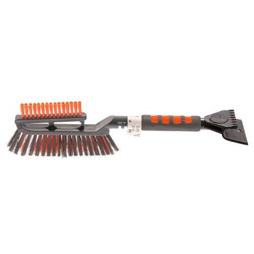 Щетка-скребок Stels 55282 серый/оранжевый
