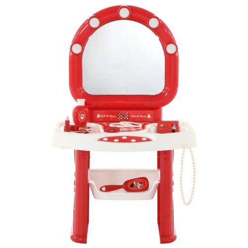 Купить Туалетный столик Полесье Disney Минни Маус (73167), Играем в салон красоты