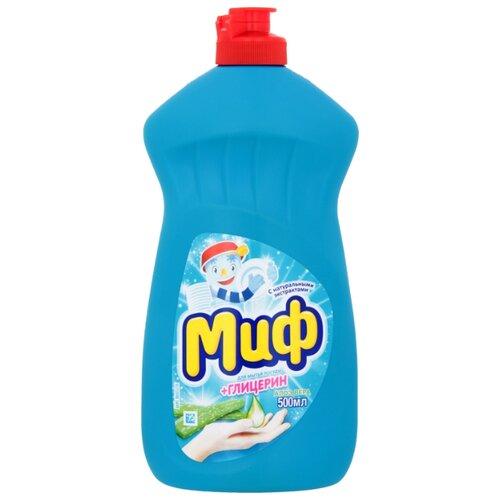Миф Бальзам для мытья посуды Алоэ вера 0.5 л средство для мытья посуды миф бальзам алоэ вера 500 мл