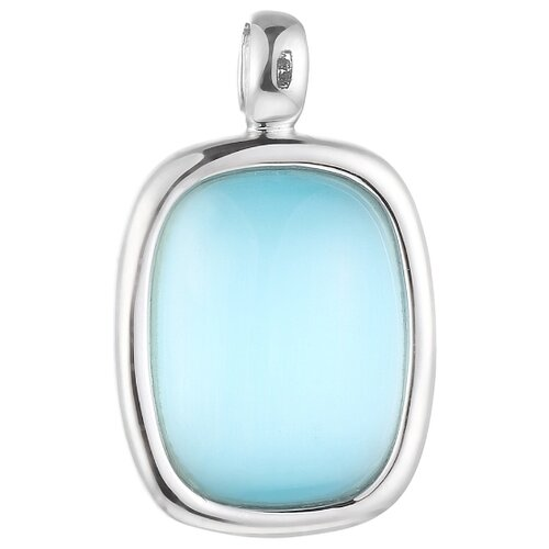 JV Подвеска со стеклом из серебра SP0281-US-002-WG jv кольцо с ювелирным стеклом из серебра b3198 us 011 wg размер 17 5