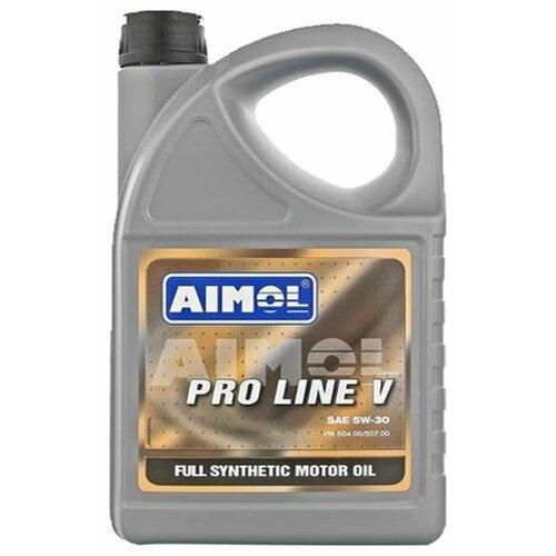 Моторное масло Aimol Pro Line V 5W-30 4 л моторное масло aimol pro line f 5w 30 1 л 8717662396557