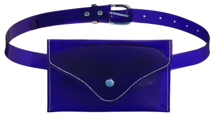 Поясная сумка Nothing But Love (фиолетовый; серебристый; белый)