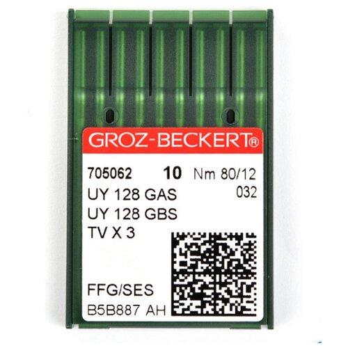 Игла для ПШМ Groz-Beckert, №80, 10 штук, арт. 705062