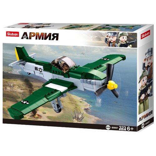 Купить Конструктор SLUBAN WW2 M38-B0857 Истребитель, Конструкторы