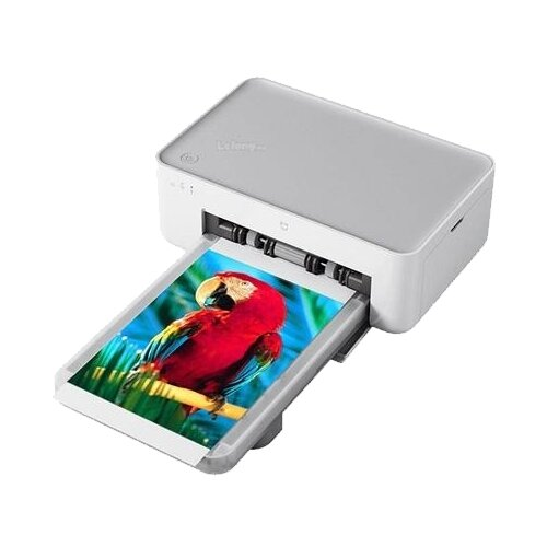 Фото - Принтер Xiaomi Mijia Photo Printer 1S, белый xiaomi mijia mjjgtyds01fm laser projector 4k 2gb 16gb english interface