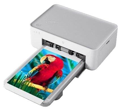 Принтер Xiaomi Mijia Photo Printer — купить по выгодной цене на Яндекс.Маркете