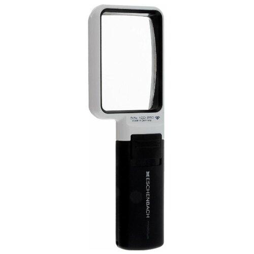 Фото - Лупа асферическая ручная с подсветкой Eschenbach mobilux LED, 75 х 50 мм, 3.5х, 10.0 дптр лупа stayer standard 40523 75 черный