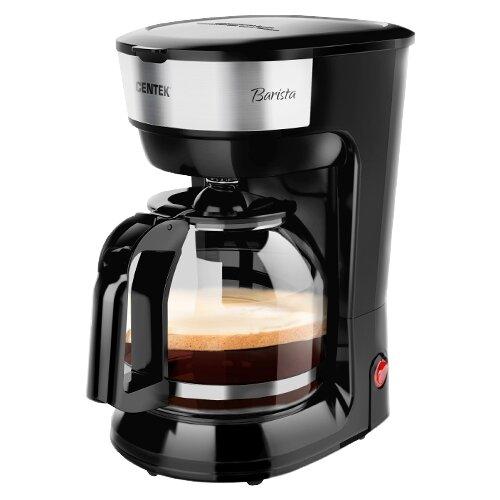 Кофеварка капельная CENTEK CT-1147, черный кофеварка centek ct 1147