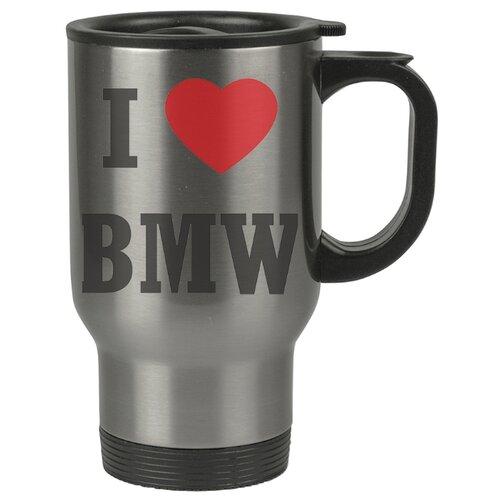 Автомобильная термокружка Я люблю БМВ