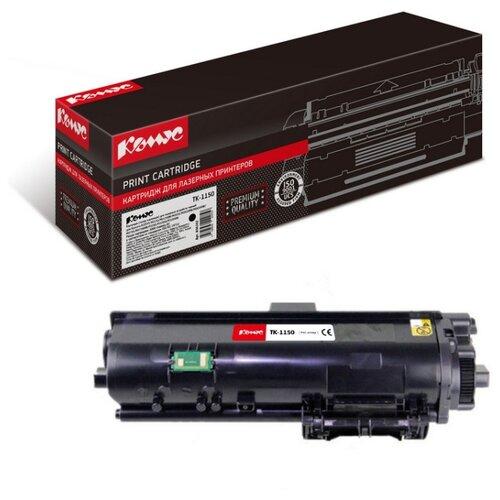 Фото - Картридж лазерный Комус TK-1150 черный, для Kyocera Ecosys M2635 картридж лазерный комус tk 580k черный для kyocera fs c5150dn