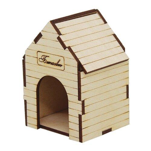 Купить Astra & Craft Деревянная заготовка для декорирования Будка для собаки L-713 бежевый, Декоративные элементы и материалы