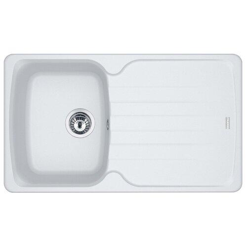 Врезная кухонная мойка 86 см FRANKE AZG 611-86 114.0489.160 белый врезная кухонная мойка 86 см franke azg 620 114 0489 301 бежевый