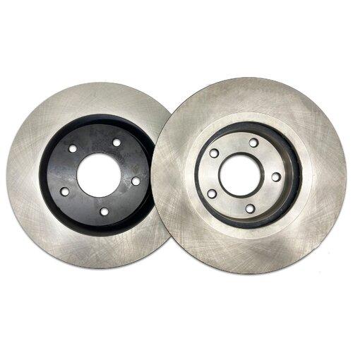 Комплект тормозных дисков передний NIBK RN1303 295.5x26 для Nissan X-Trail, Nissan Juke (2 шт.)