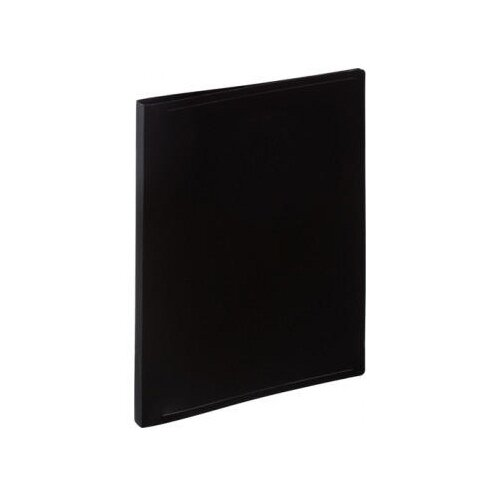 Attache Папка-скоросшиватель с пружинным механизмом А4, пластик 500 мкм черный attache папка скоросшиватель fluid а4 пластик фиолетовый