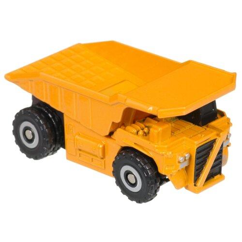 Купить Трансформер Zhorya Стальная команда. Самосвал ZYK-K2602-4 оранжевый/черный, Роботы и трансформеры