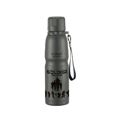Термобутылка Zeidan Z-9075, 0.5 л серый