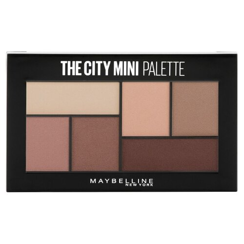 Maybelline New York Палетка теней для век The city mini 480 matte about town недорого
