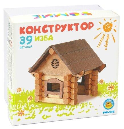 Купить Конструктор Томик Домик Томика 1-20 Изба по низкой цене с доставкой из Яндекс.Маркета