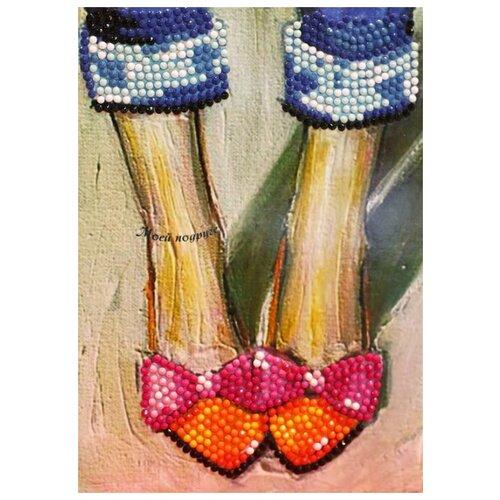 Купить Алмазная открытка Color Kit Моей подруге , 18x13, Алмазная мозаика