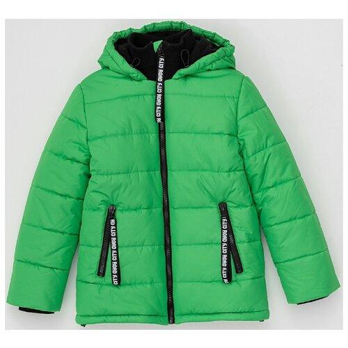 Купить Куртка Button Blue 220BBBJC41024800 размер 134, зеленый, Куртки и пуховики