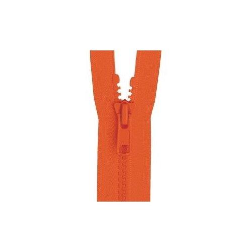 Купить YKK Молния тракторная разъемная 4335956/65, 65 см, апельсиновый/апельсиновый, Молнии и замки