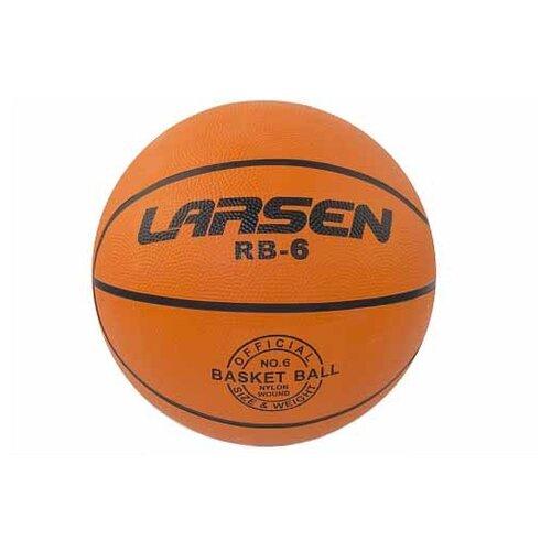 цена на Баскетбольный мяч Larsen RB (ECE), р. 6 оранжевый