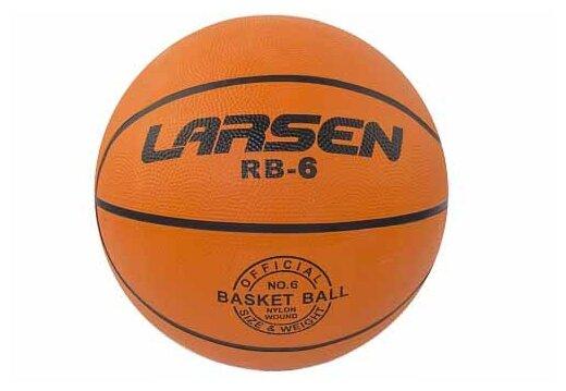 Баскетбольный мяч Larsen RB (ECE), р. 6