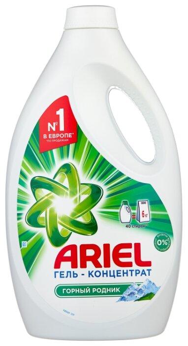 Гель для стирки Ariel Горный родник