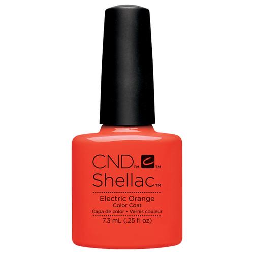 Купить Гель-лак для ногтей CND Shellac Paradise, 7.3 мл, Electric Orange