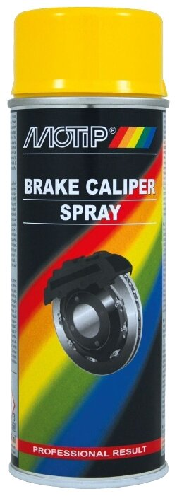 MOTIP аэрозольная автоэмаль Brake Caliper Spray