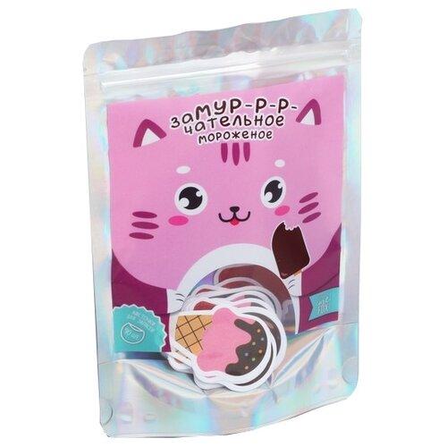 Купить ArtFox бумага для записей Замурчательное мороженое 90 листов (4470122) коричневый/розовый/бежевый, Бумага для заметок