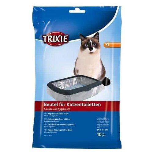Пакеты для выгула для кошек TRIXIE XL 4051 прозрачный 10 шт.