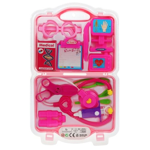Набор доктора Наша игрушка 969-100A набор доктора наша игрушка 643452