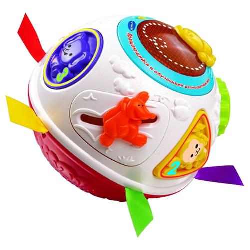 Купить Развивающая игрушка VTech Вращающийся и обучающий мяч (80-151566) мультиколор, Развивающие игрушки