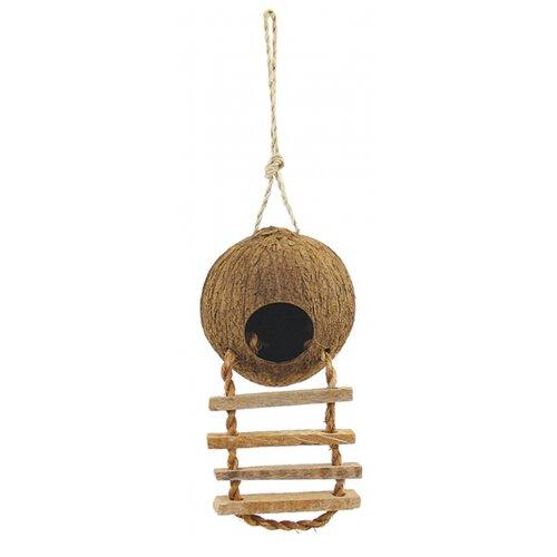 Домик-гнездо Triol CN02 52031002 13х13х45см коричневый