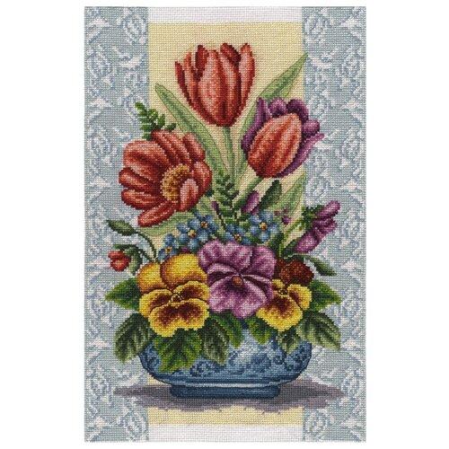 Купить Набор для вышивания Panna Яркая весна , арт. Ц-1698, 20х31 см, Наборы для вышивания