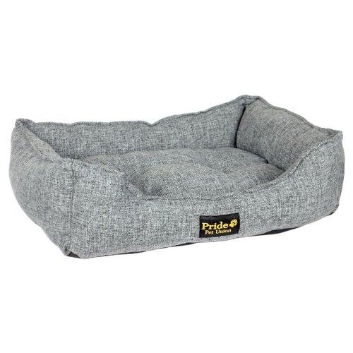 Лежак для собак PRIDE Прованс 90х80х25 см графит