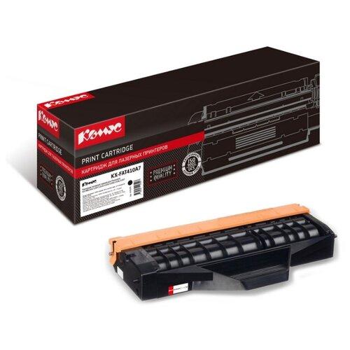 Фото - Картридж лазерный Комус KX-FAT410A7 черный, для Panasonic KX-MB1500 картридж panasonic kx fat410a7 для для kx mb1500 kx mb1520ru 2500стр черный