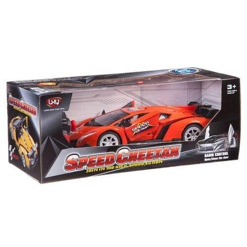 Фото - Легковой автомобиль Liang Xing Yuan Toys Speed Cheetah (1988L-A1) красный ming xing toys водный синий