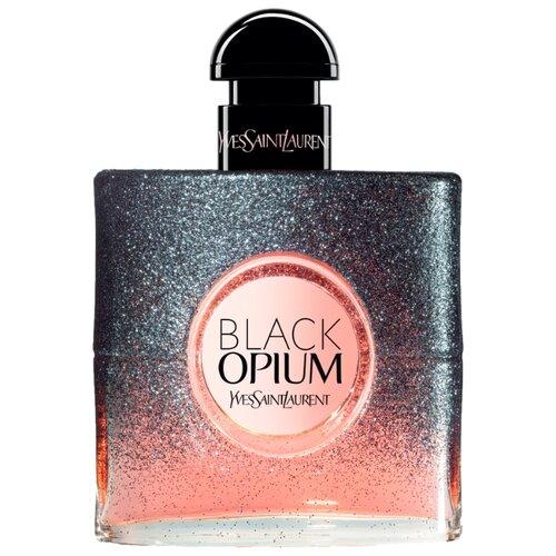 Парфюмерная вода Yves Saint Laurent Black Opium Floral Shock, 50 мл туалетная вода yves saint laurent black opium 2018 50 мл