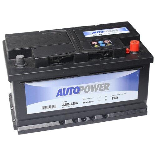 Автомобильный аккумулятор Autopower A80-LB4
