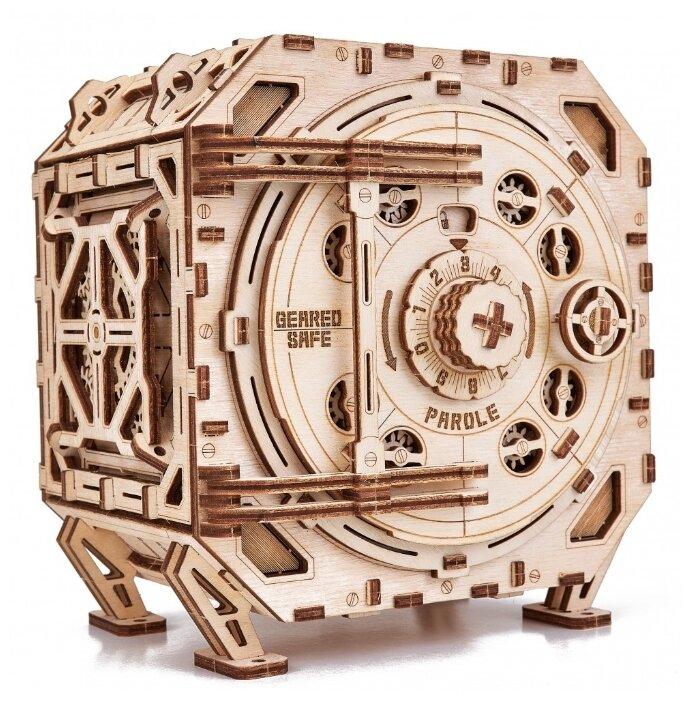 Сборная модель Wood Trick Механический Сейф (1234-41)